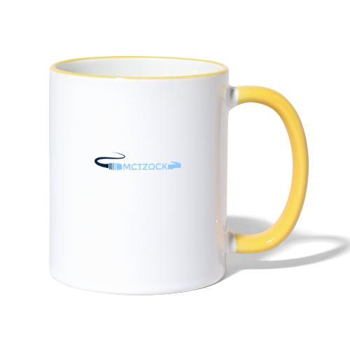Logo schlicht - Tasse zweifarbig