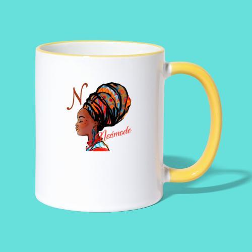 Image de mode - Mug contrasté