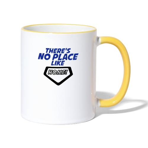 There´s no place like home - Contrasting Mug