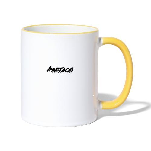 Immnotacat main design - Tvåfärgad mugg