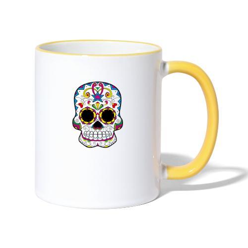 skull7 - Tazze bicolor