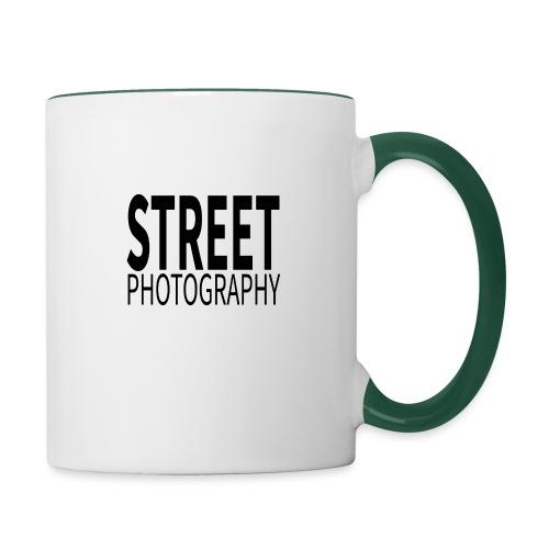 Street photography Black - Tazze bicolor