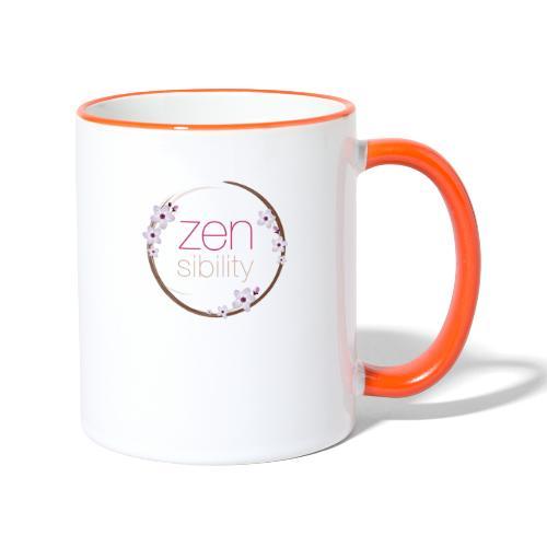 zensibility - Tasse zweifarbig