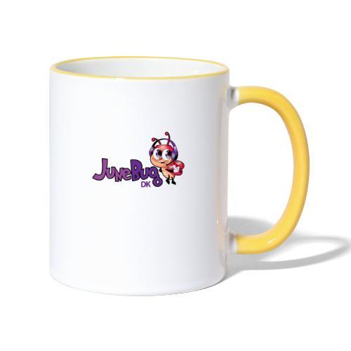 JuneBugDK - Tofarvet krus