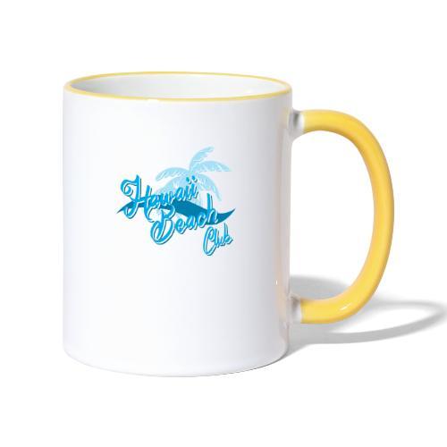 Hawaii Beach Club - Contrasting Mug
