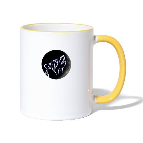 Ulvemåne logo - Tofarget kopp