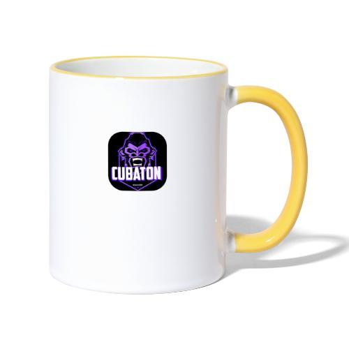 CUBATON - Taza en dos colores