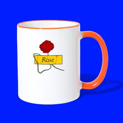 Rose - Tvåfärgad mugg