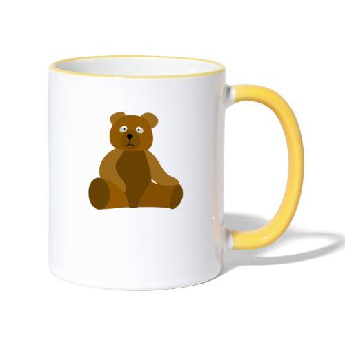 nounours - Mug contrasté