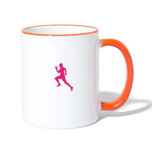 RUN - Tasse zweifarbig