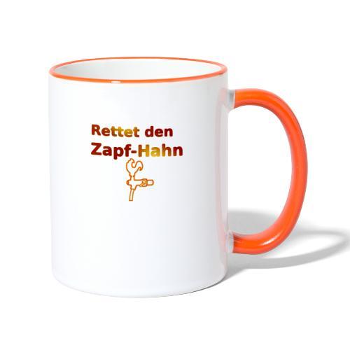Rettet Zapfahn RG - Tasse zweifarbig