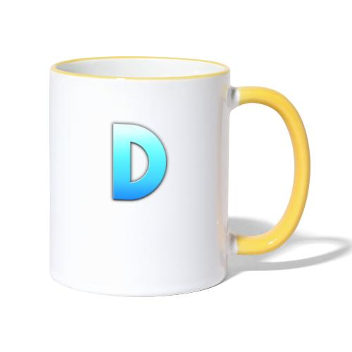 D LOGO - Taza en dos colores
