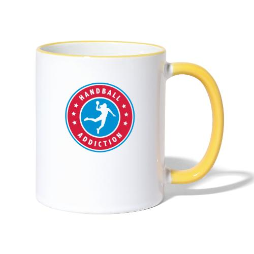 handball addiction femme - Mug contrasté