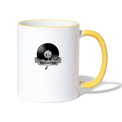 WHO DARES SPINS - Contrasting Mug