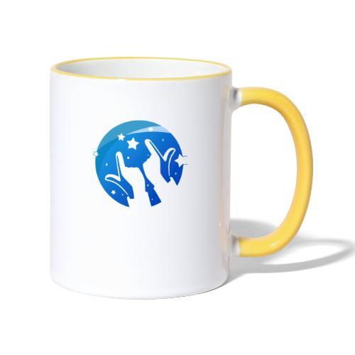 Gleam Hands loho - Contrasting Mug