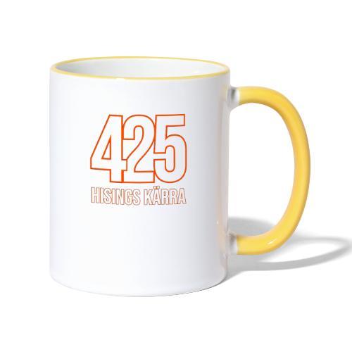 425 Kärra - Tvåfärgad mugg