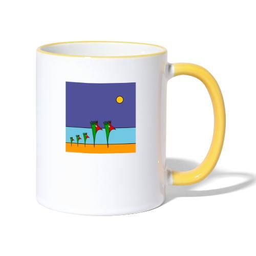 Galoloco - na praia / at the beach (2) - 1:1 - Mug contrasté