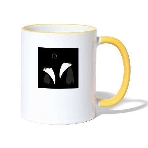 Raving Ravens - lunar eclipse - Mug contrasté