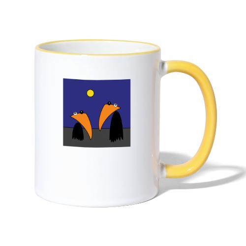 Raving Ravens - Halloween - Mug contrasté