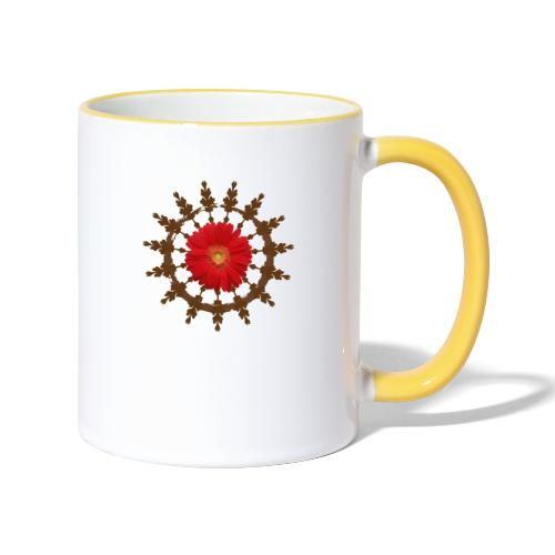 Vedi Tarot Logo - Contrasting Mug