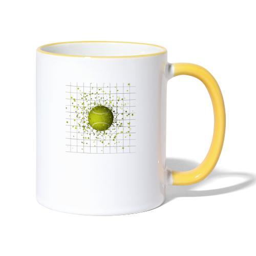 Balle de TENNIS - Mug contrasté