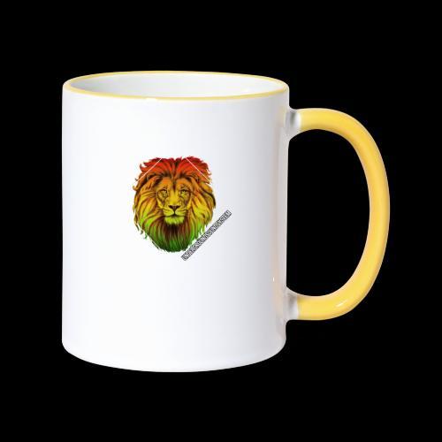 LION HEAD - UNDERGROUNDSOUNDSYSTEM - Tasse zweifarbig
