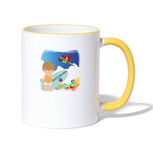 Surf Boy Reunion Island - Mug contrasté