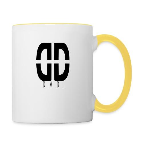 dadi logo png - Tasse zweifarbig