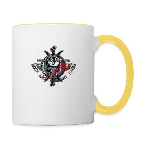 Blood Skull Logo - Tvåfärgad mugg