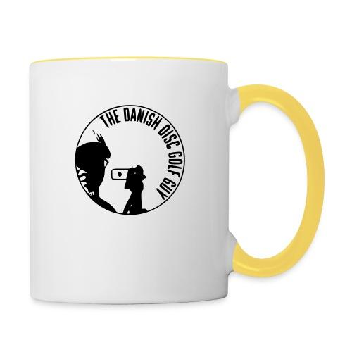 The Danish Disc Golf Guy Logo - Contrasting Mug