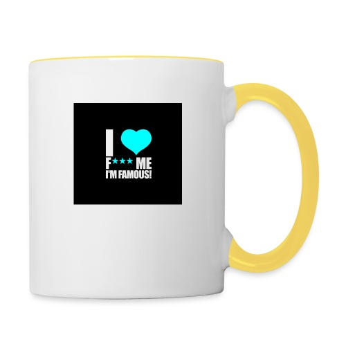 I Love FMIF Badge - Mug contrasté