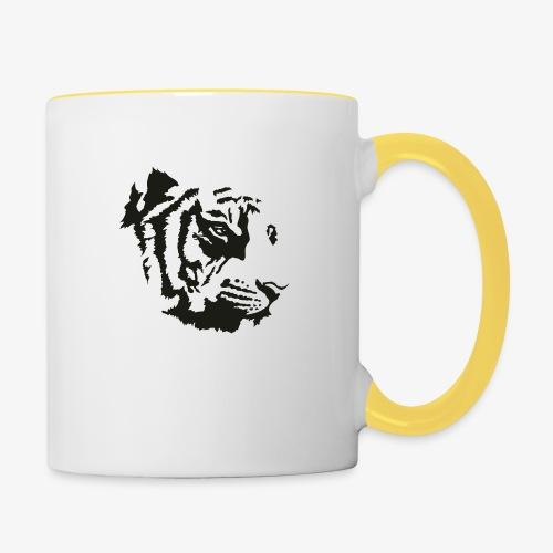 Tiger head - Mug contrasté