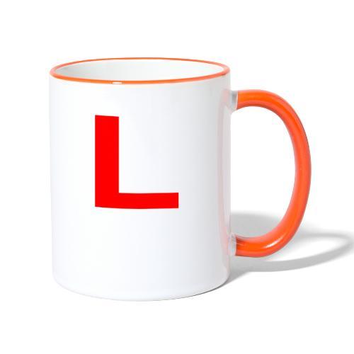 l - Tofarget kopp