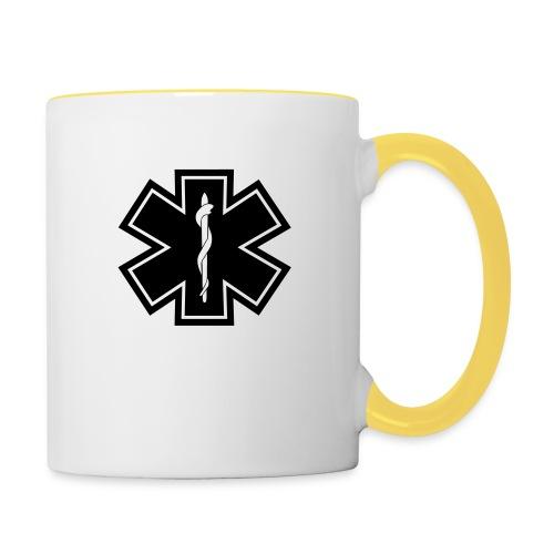 paramedic2 eps - Tasse zweifarbig