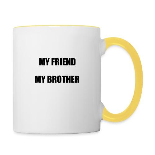 my friend - Mug contrasté