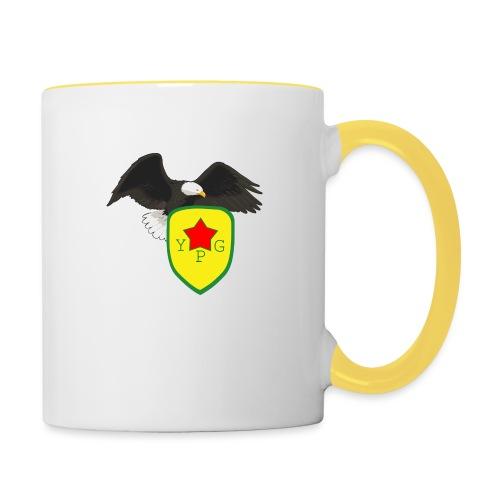 Mens Support YPG Hoodie - Kaksivärinen muki