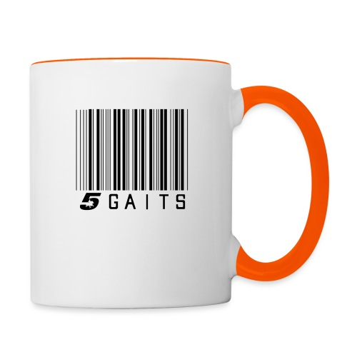 5gaitsBarcode - Contrasting Mug