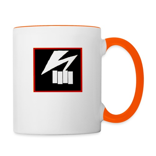 bad flag bad brains - Contrasting Mug