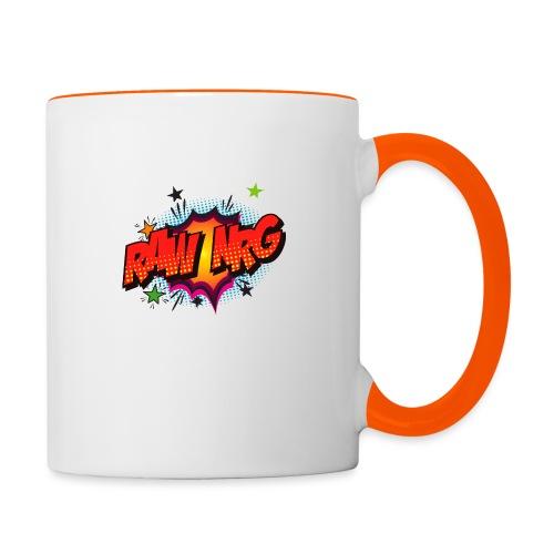 Raw Nrg comic3 - Contrasting Mug
