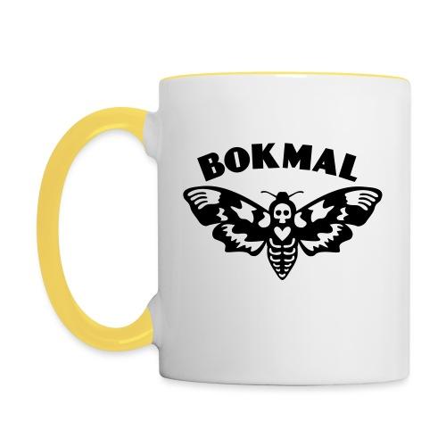 BOKMAL - Tvåfärgad mugg
