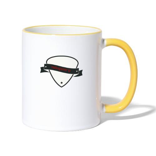 tasse und taschen etc mit logo - Tasse zweifarbig