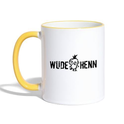 Vorschau: Wüde Henn - Tasse zweifarbig