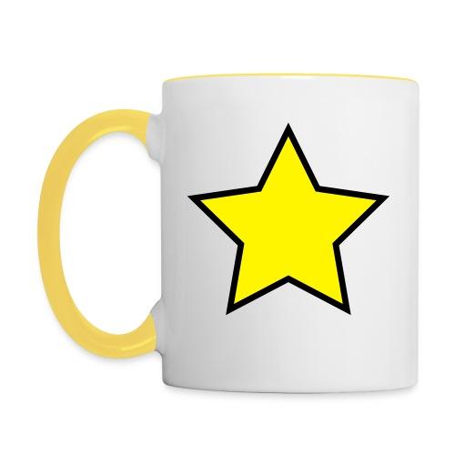 Star - Stjerne - Contrasting Mug