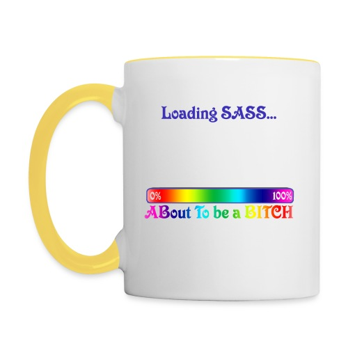 Sass loading - Contrasting Mug
