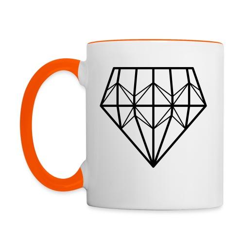 Diamond - Kaksivärinen muki