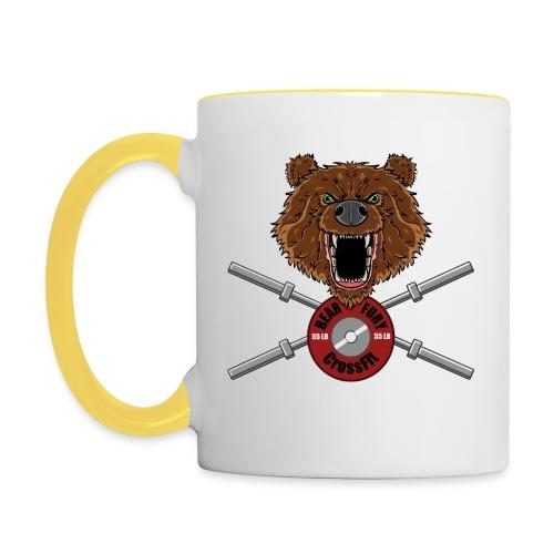 Bear Fury Crossfit - Mug contrasté