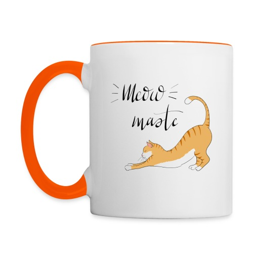 Meowmaste - Tasse zweifarbig