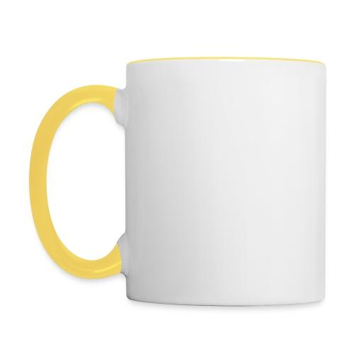 Was ist das für 1 life? - Kaffeetasse - Tasse zweifarbig