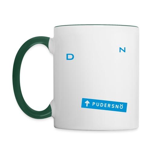 pudersn_2vari - Kaksivärinen muki