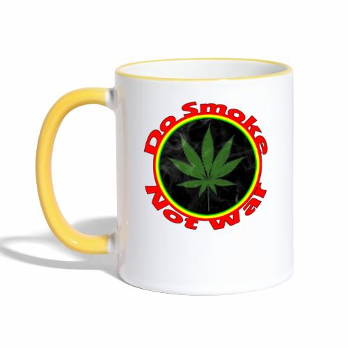 Do Smoke Not War - Tasse zweifarbig